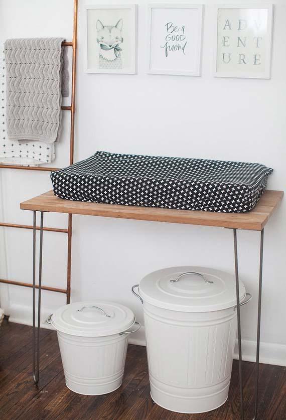 Einfaches Babyzimmer: 60 Tolle Ideen Zum Dekorieren #basteln #herbstdeko  #kuchen #torte #diyideen #mädchen #selbermachen #jugendzimmer #mit #herbst  ...