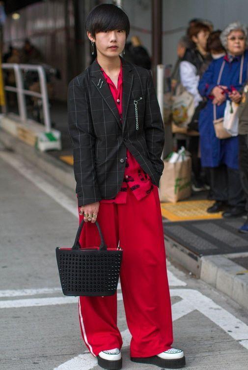 Street Fashion Tokyo Fashion Week Jesien Zima 2017 2018