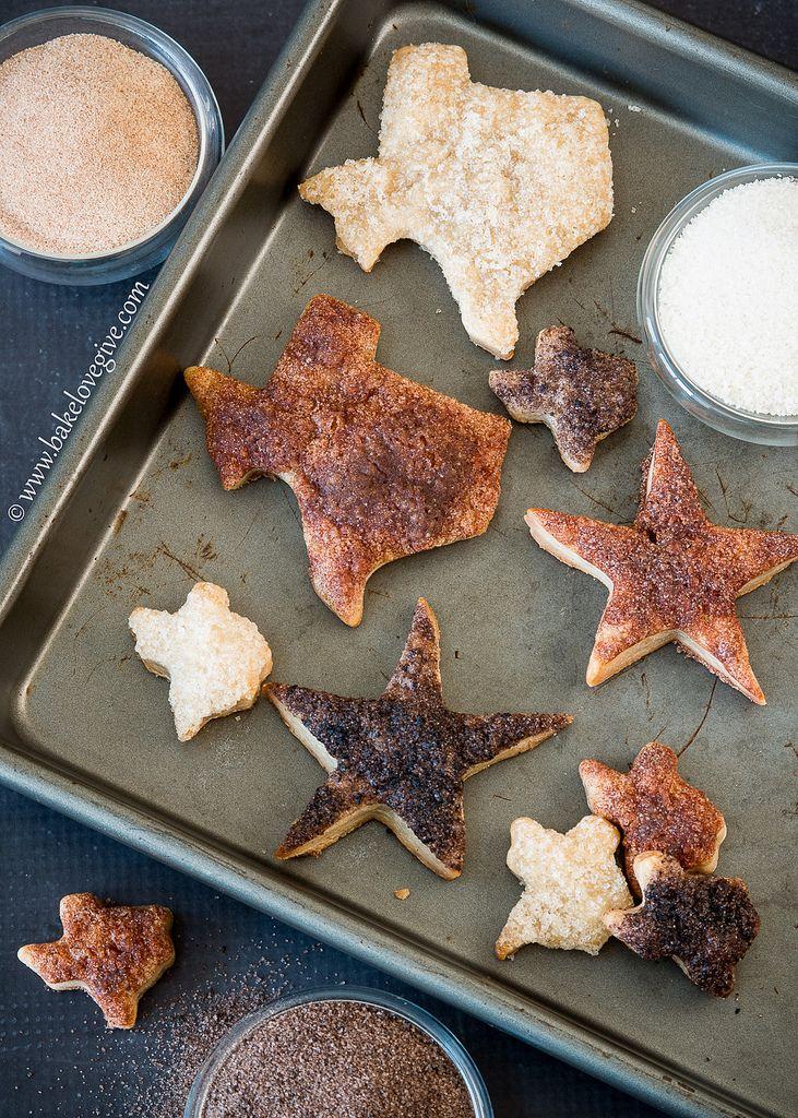 texas pie crust cookies - bake.love.give.
