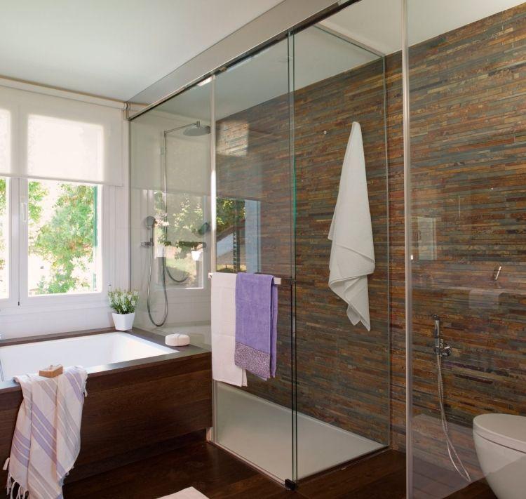 15 beispiele fr moderne badgestaltung mit glas dusche - Moderne Badgestaltung Beispiele