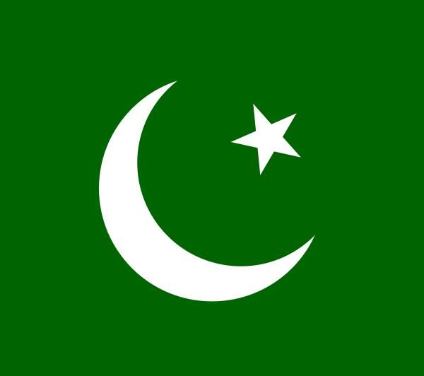 What does Pakistan's flag contains green and white colors ...