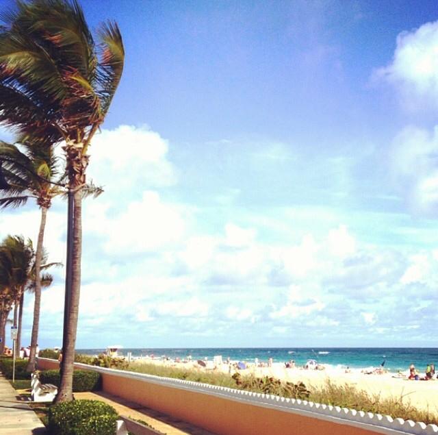 Ocean Blvd, Palm Beach via Lilly Pulitzer Instagram
