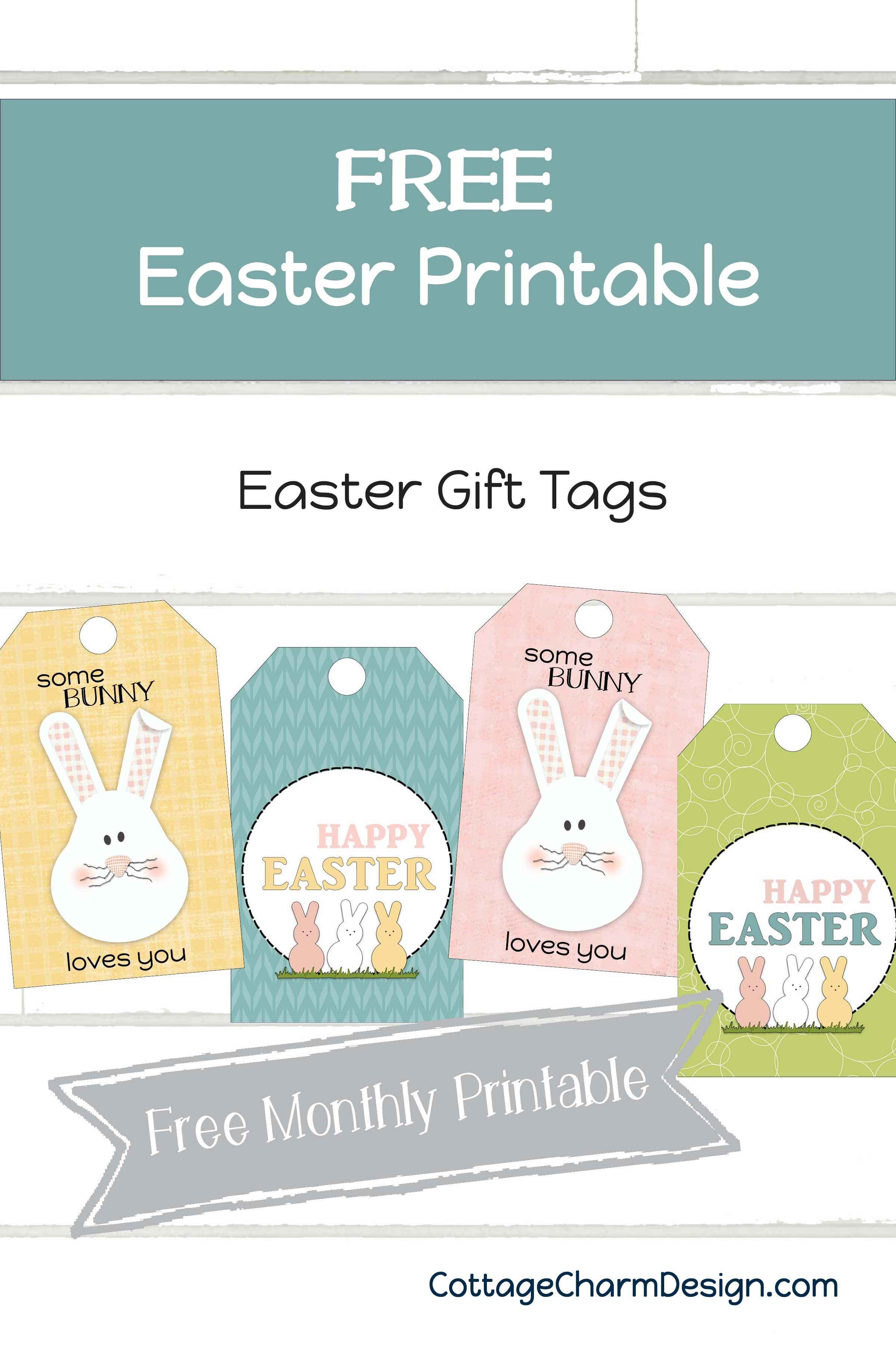 Easter Gift Tags Freebie Easter Gift Tag Easter Gift Card Holder Printable Gift Cards