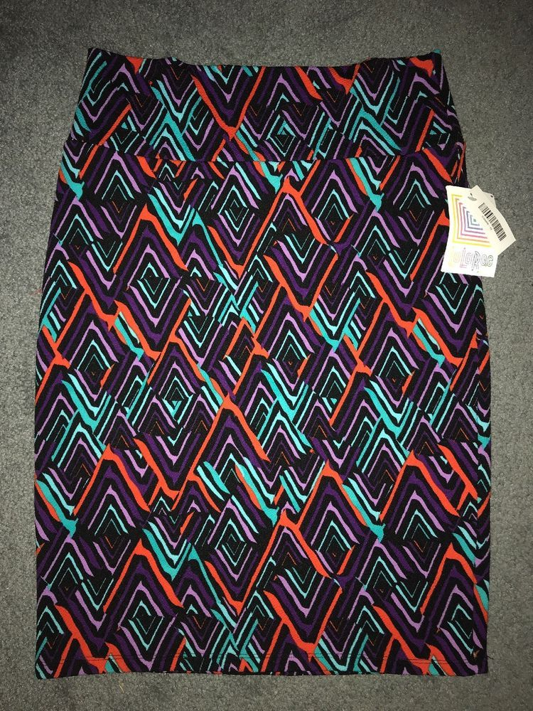 Clothing, Shoes & Accessories Nwt Lularoe Cassie Pencil Skirt Size Medium High Quality And Inexpensive