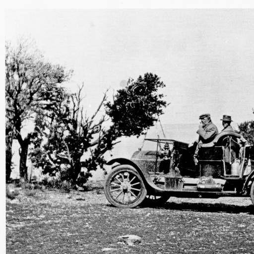 E. W. Scripps Arriving At The Grand Canyon. E. W. Scripps