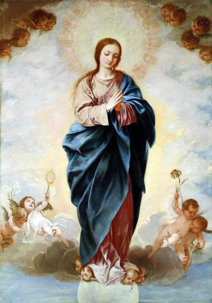 La Perfecta Consagración A Jesucristo Es Por María Imaculada Conceição Imaculada Nossa Senhora Da Imaculada Conceição