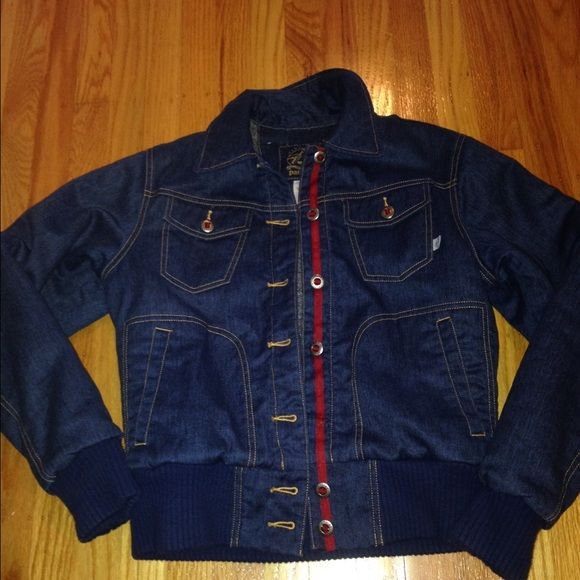 Patagonia Lined Jean Jacket This is a very nice denim jacket. Lining is thick. This is a heavier weight jacket. Two breast front pockets. Patagonia Jackets & Coats Jean Jackets