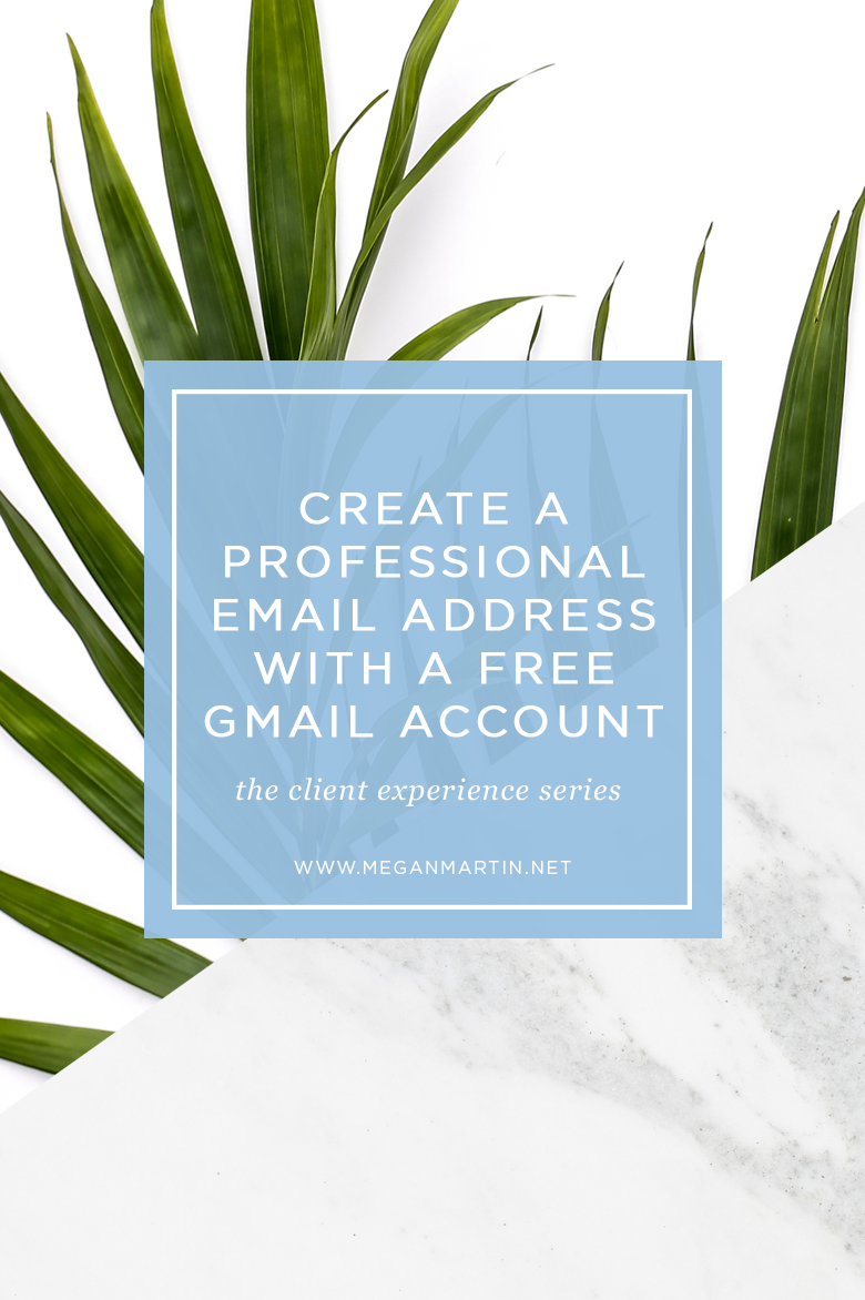 how to set up a professional email address alias for gmail | a
