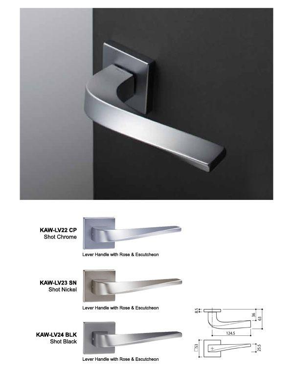 Great Lever Handle Range :: Designer Door Hardware :: All Architectural Hardware