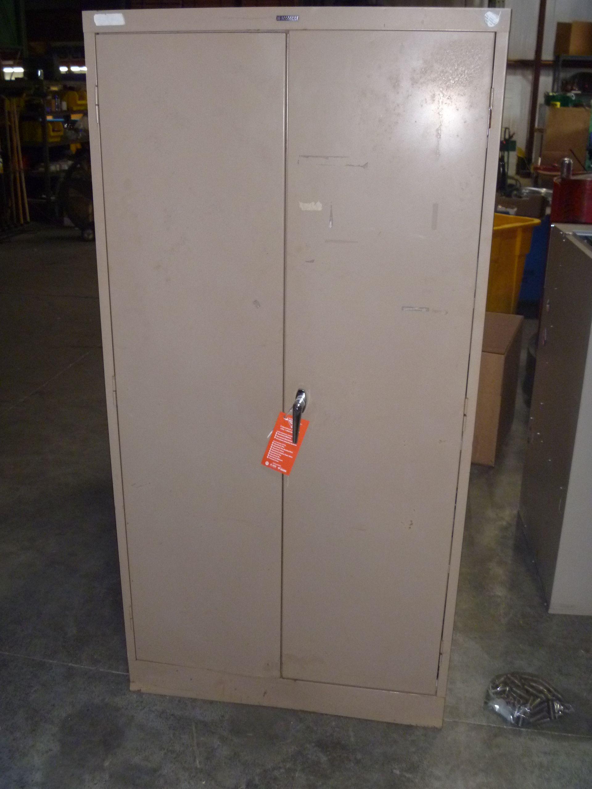 shops alera storage andthat welded cabinet steel christmas duty heavy door cabinets tree metal
