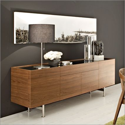 modern sideboard, wood sideboard, modern home decor ideas For more