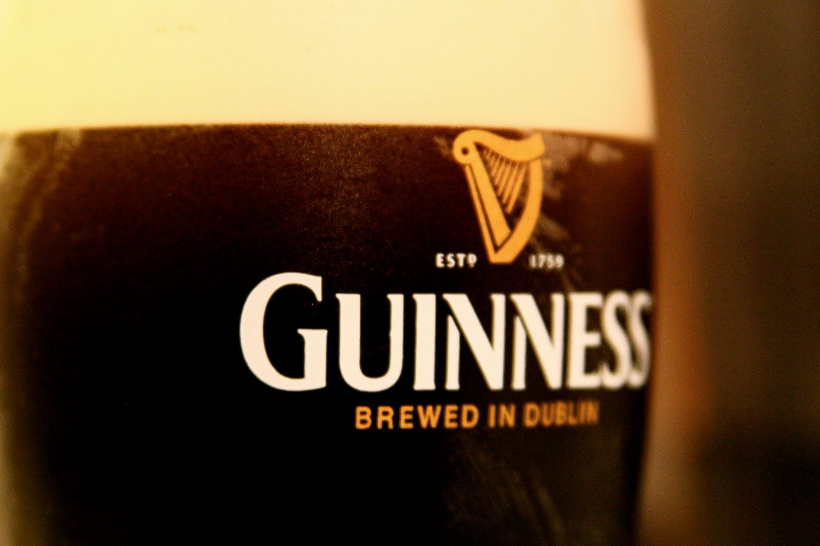 The Guinness ice cream float