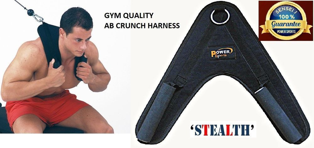 Deluxe Heavy Duty AB CRUNCH Harness Cable Machine