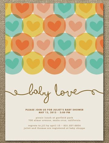 Baby showers chic cheap nursery childern pinterest babies baby love baby shower invitations by waui design filmwisefo Image collections