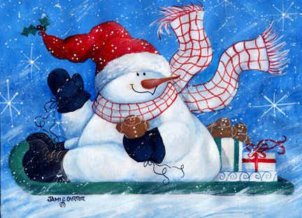 *SNOWMAN ~ Come Ride With Me