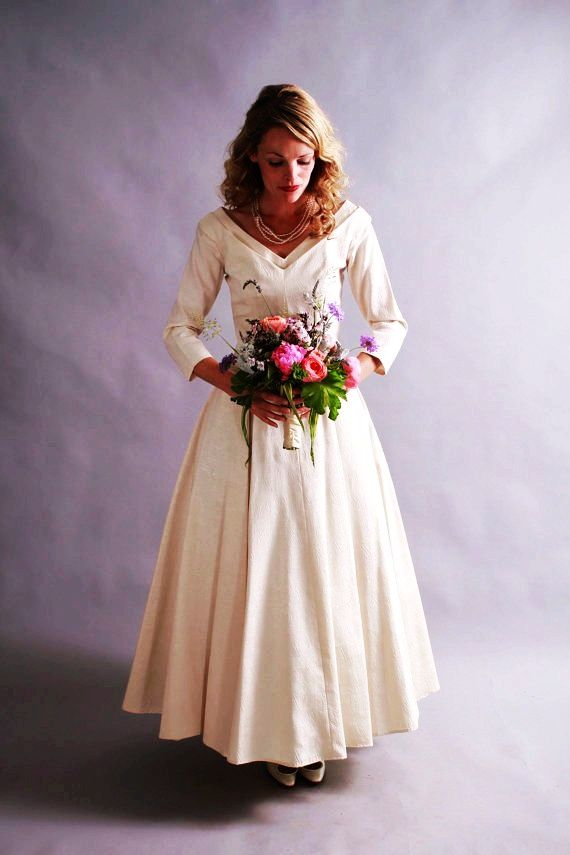 1950s wedding dresses for sale | ... Sale 1950\'s/ 60\'s wedding gown ...