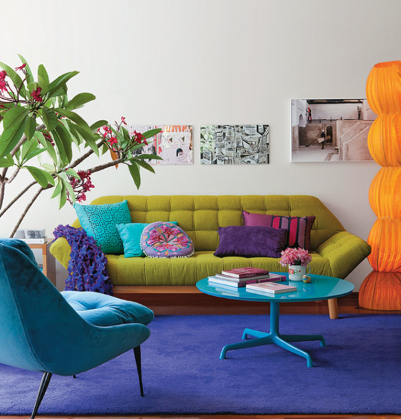 Conquer Your Color Fears | ECLECTIC LIVING HOME