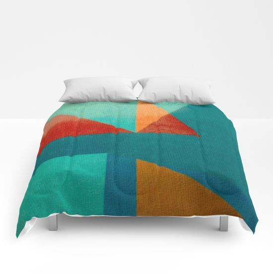 Sailing in River Mouth Comforters