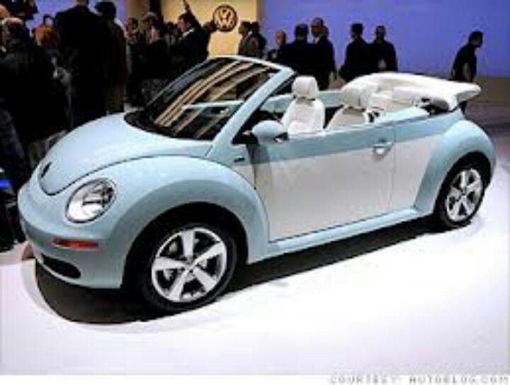 Volkswagen Beetle I Love The Powder Blue Color