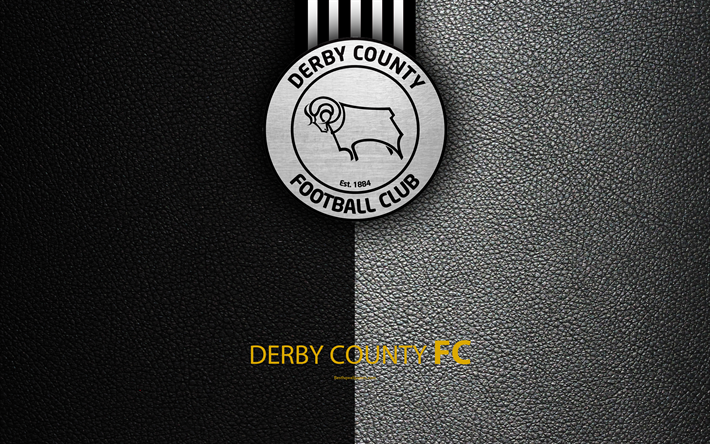 Download Wallpapers Derby County FC, 4K, English Football