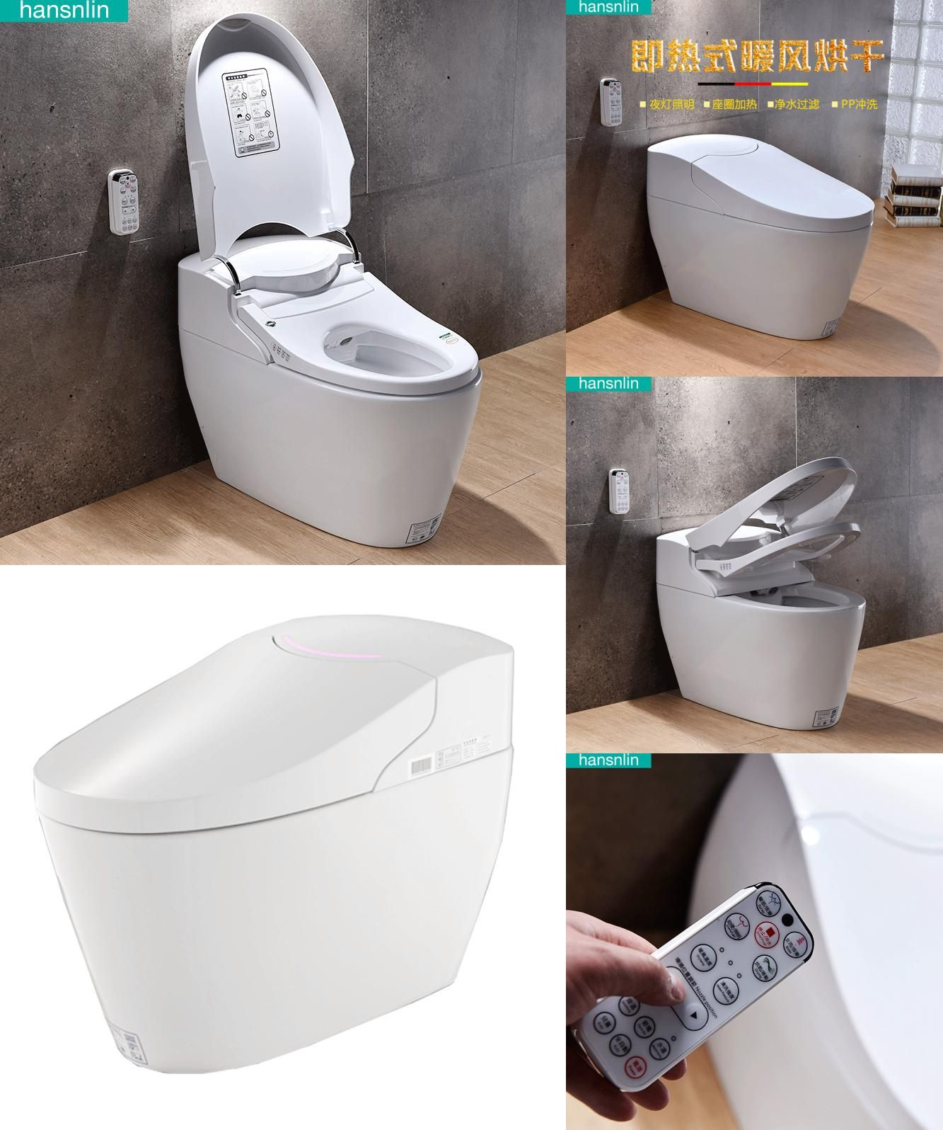 Visit To Buy Eco Smart Toilet Fully Integrated Bidet Toilet