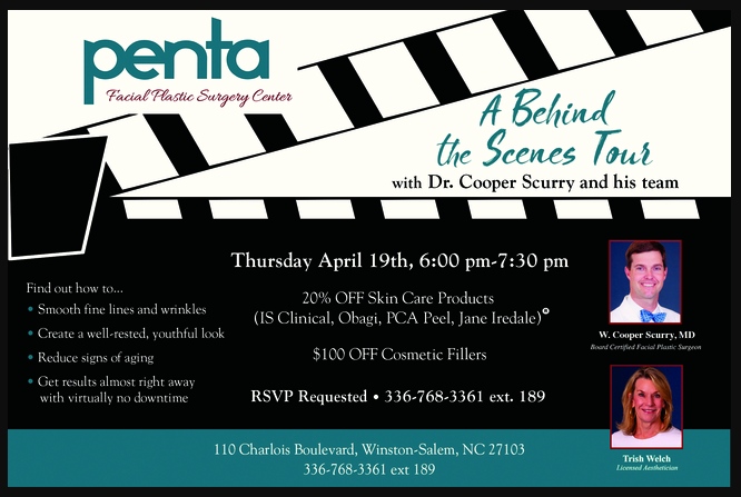 Special Offers One Night Only Join Us On Thursday April 19th For A Behind The Scenes Tour 20 Off Skin Facial Plastic Facial Plastic Surgery Plastic Surgery