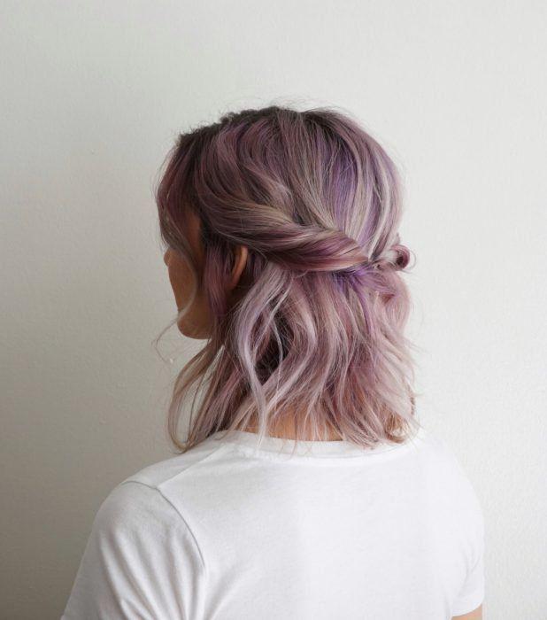 20 Bonitos y sencillos peinados para las chicas con cabello hasta los hombros