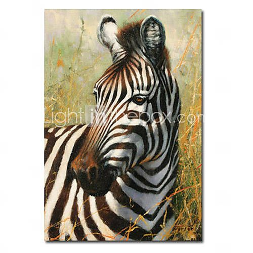 Gedrukte dier zebra op canvas doek met gespannen kader to paint gedrukte dier zebra op canvas doek met gespannen kader thecheapjerseys Gallery