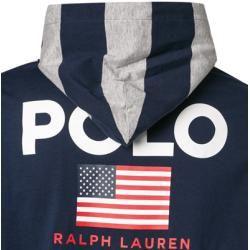 Photo of Polo Ralph Lauren long sleeve shirt men, cotton, blue Ralph Lauren