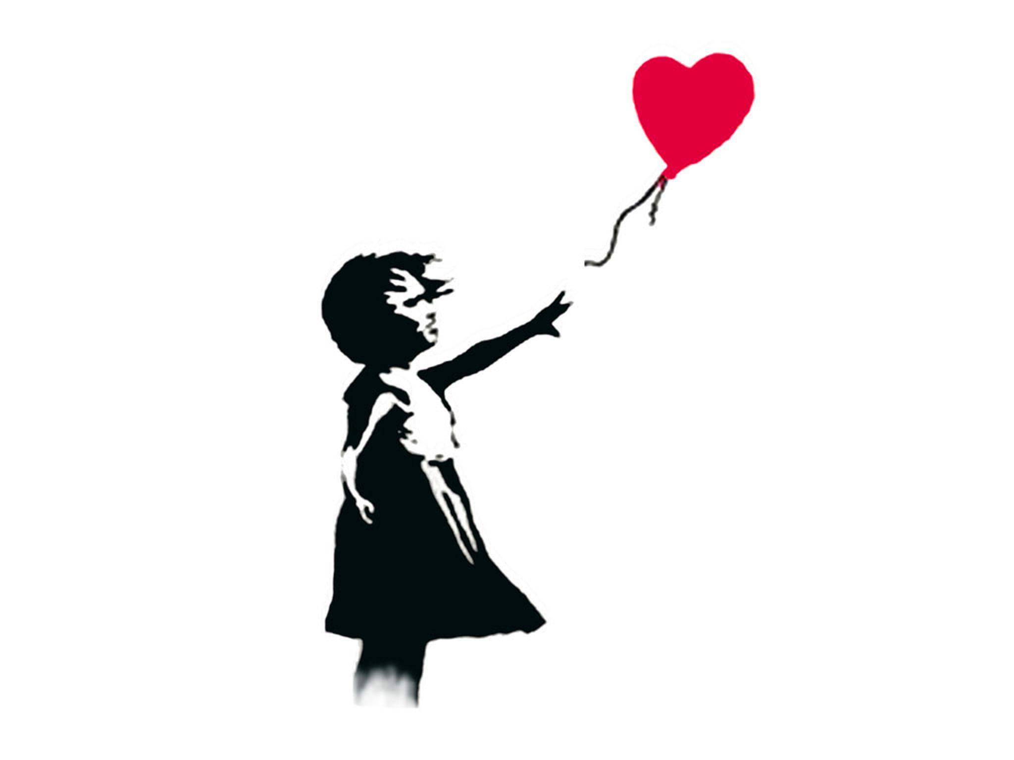 Banksy Balloon Girl Talking Points Balloon Tattoo