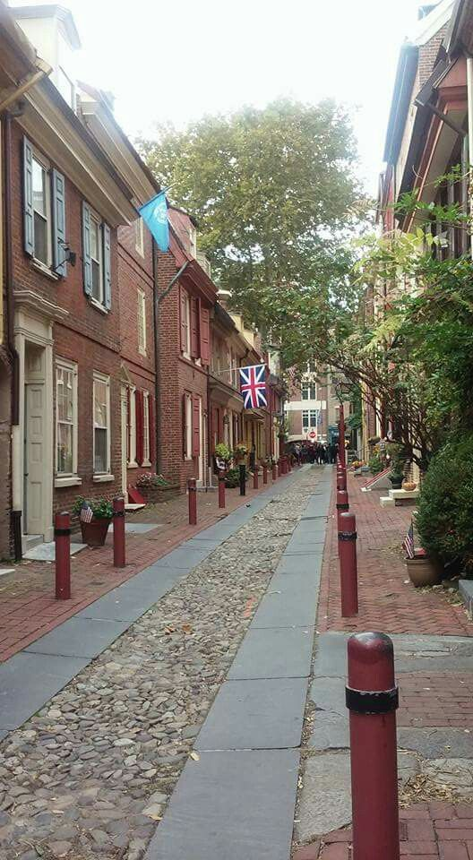 Elfreths Alley..Philly.