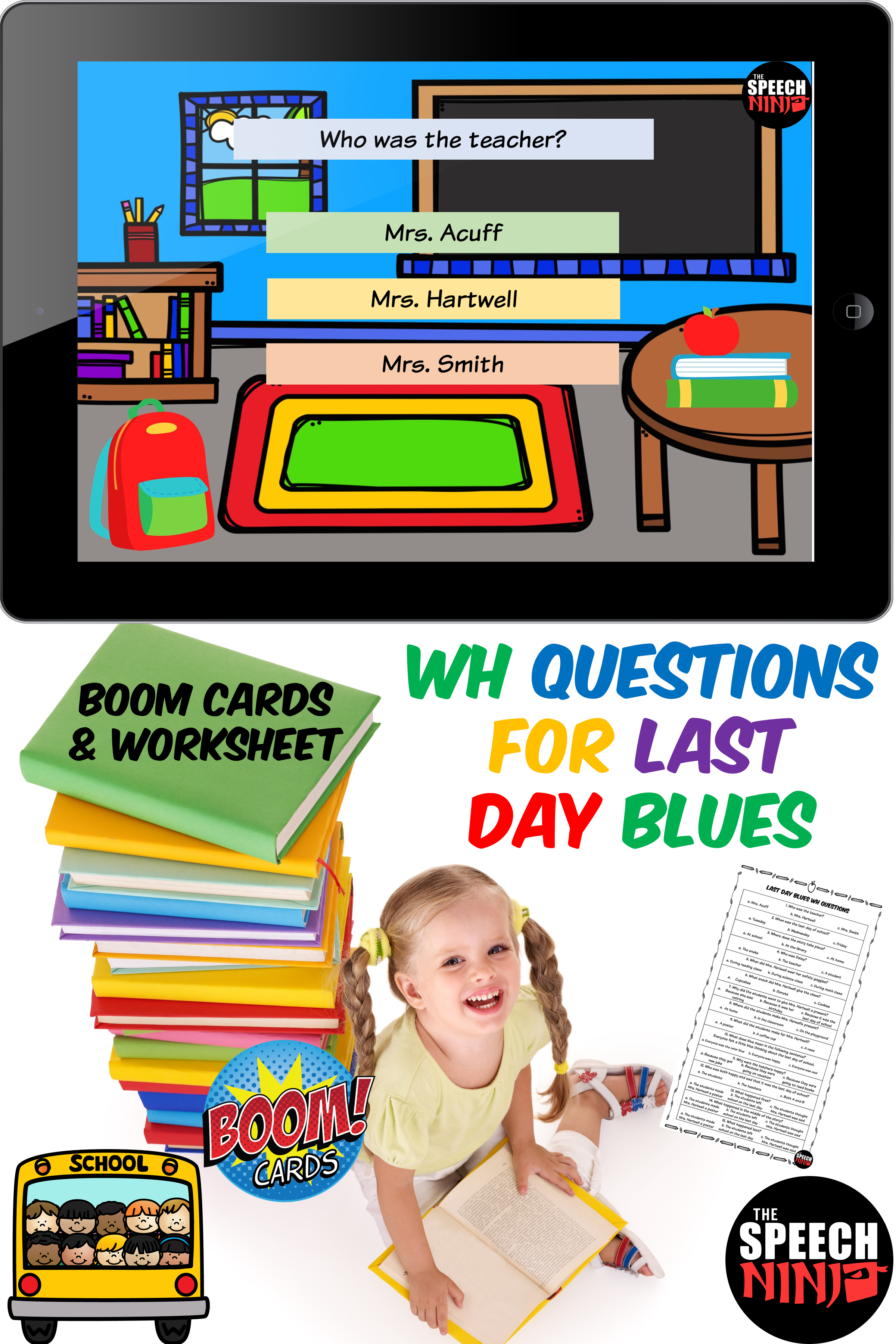 Wh Questions For Last Day Blues In