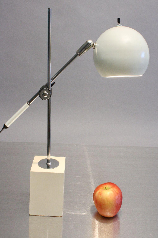 Sonneman Eyeball Lamp 1960s Adjustable Desk or Table Lamp Mid ...