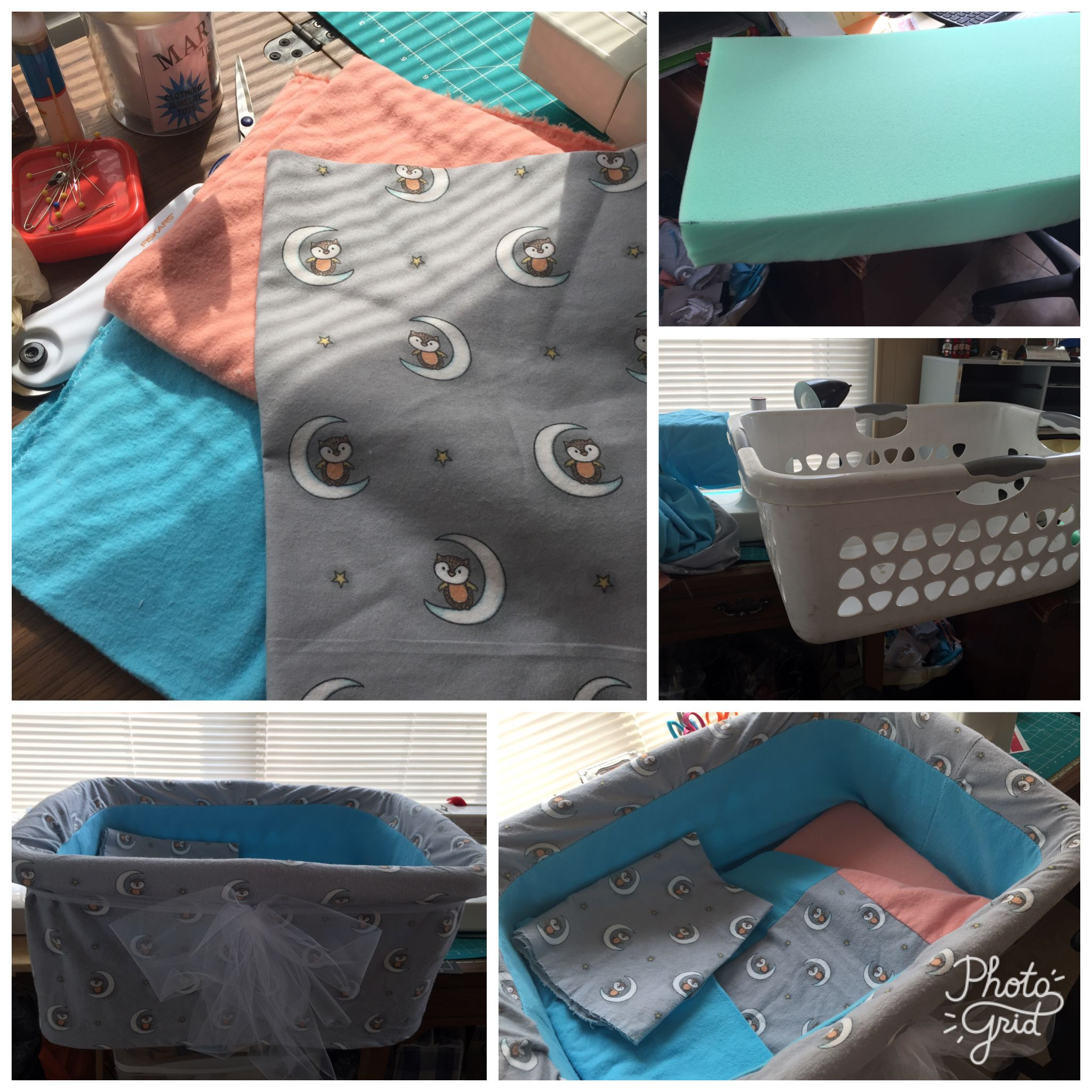 Pin By Cathy Johnson On Diy Bassinet Made From Laundry
