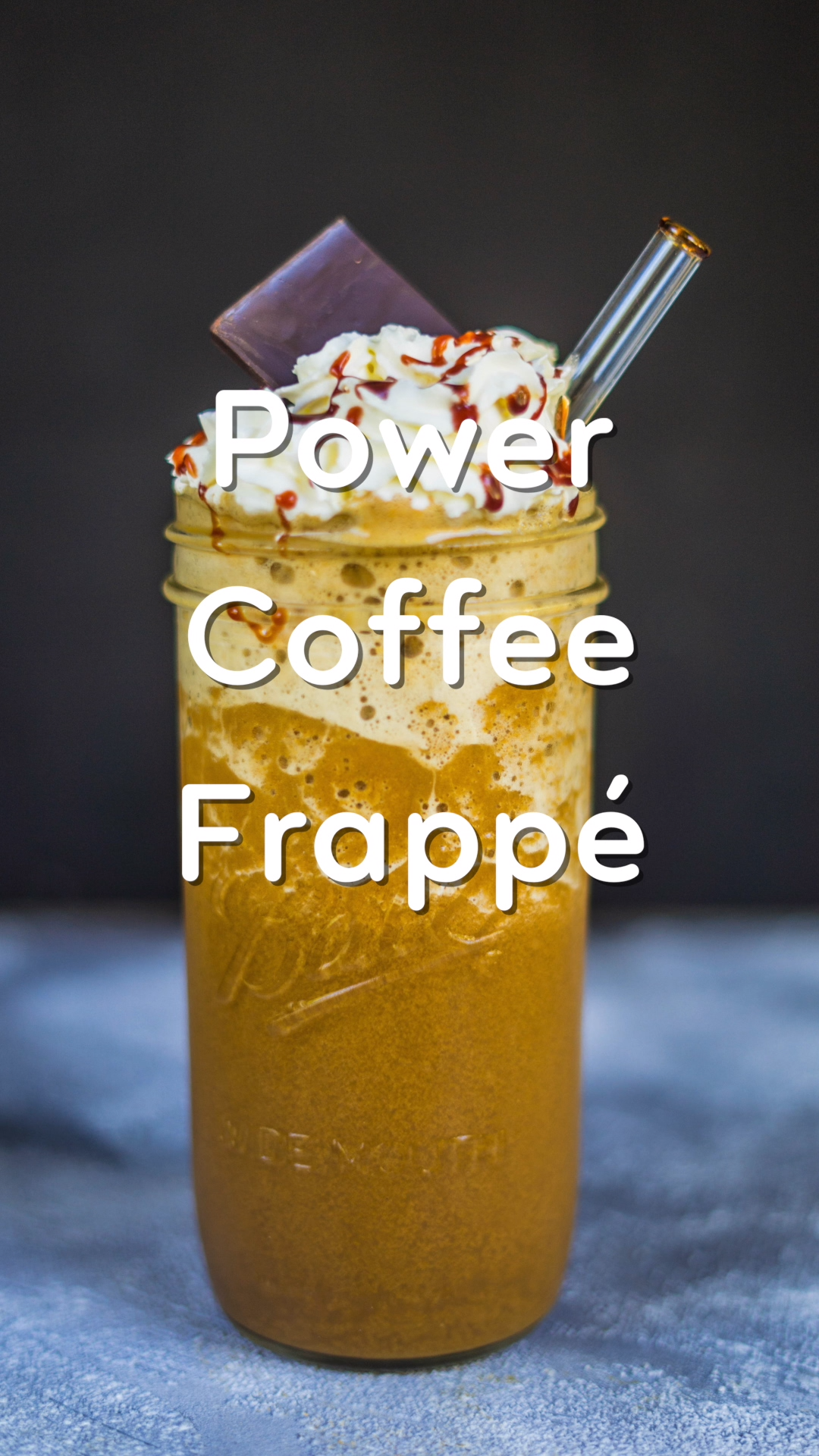 Power Coffee Frappé