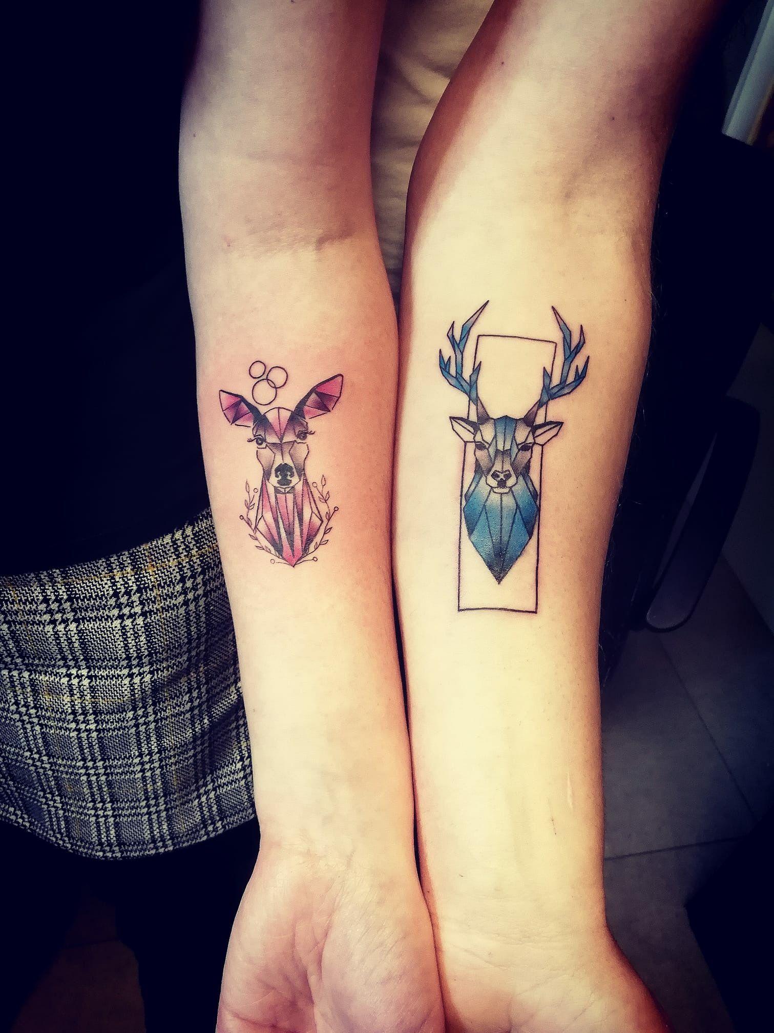 Pin von Keesha Hamm auf Tattoos (mit Bildern)   Paar