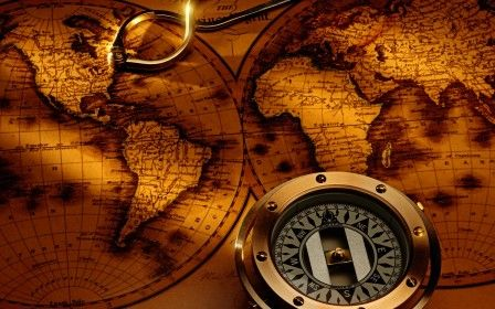 World Map And Compas, Amazing Wallpaper, HD Wallpaper, Hi Res - new best world map download