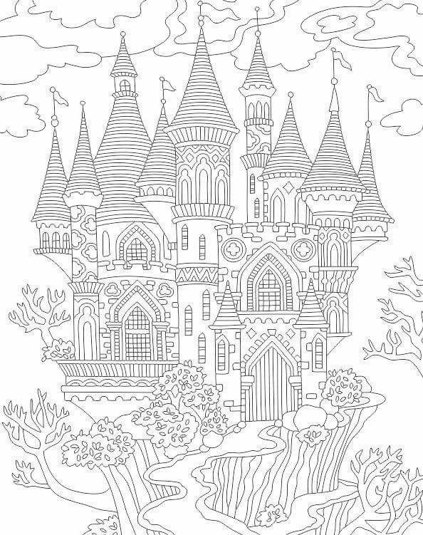 Pin By Sophie B On Colouring Pages Castle Coloring Page Coloring Pages Free Coloring Pages