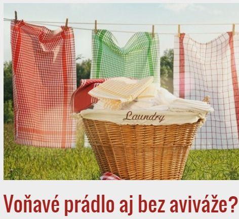 Voňavé prádlo aj bez aviváže? Vodka + esenciálný levandulový olej + destil. voda