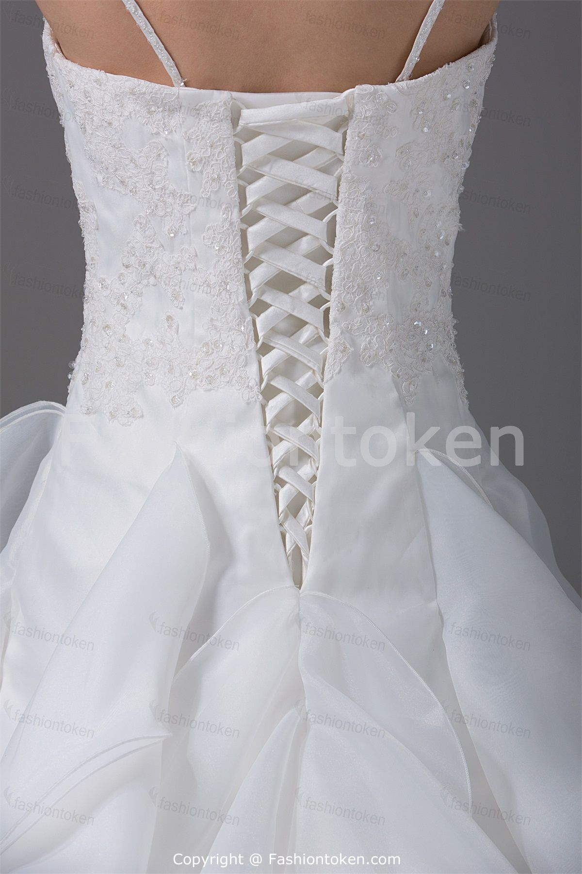 Corset-back Wedding Dress I just want it open to see skin | Wedding ...