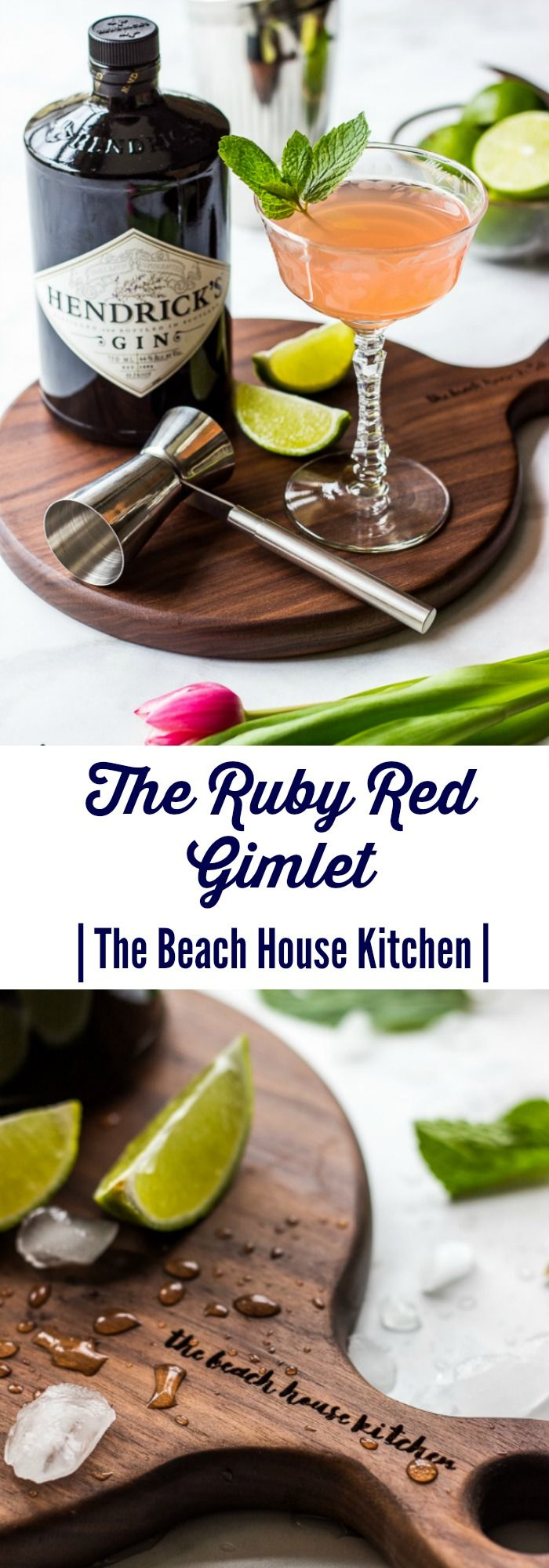 Ruby Red Gimlet | The Beach House Kitchen