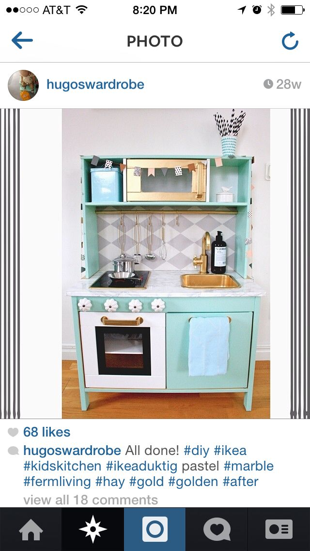 ikea duktig hack ikea hack pinterest. Black Bedroom Furniture Sets. Home Design Ideas
