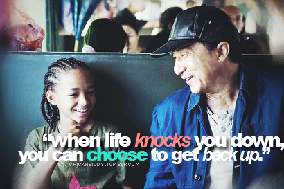 karate kid quote love pinterest quote life and