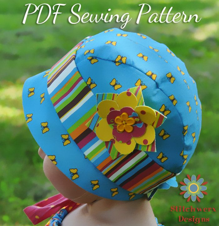 Cloche Hat, PDF Sewing Pattern, Baby, Toddler, Child, Flapper Hat ...