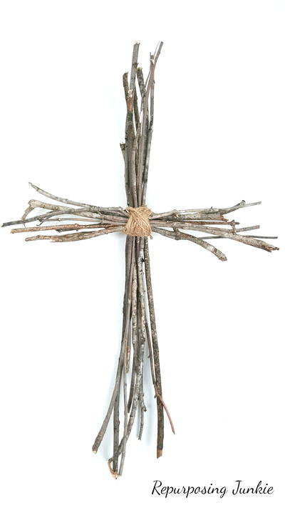 Rustically Beautiful Twig Cross