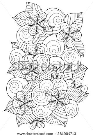 Floral Vector Stock Photos, Images, & Pictures | Shutterstock ...