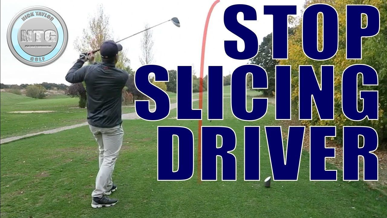 Do you slice the driver? This golf lesson explains 3 ways