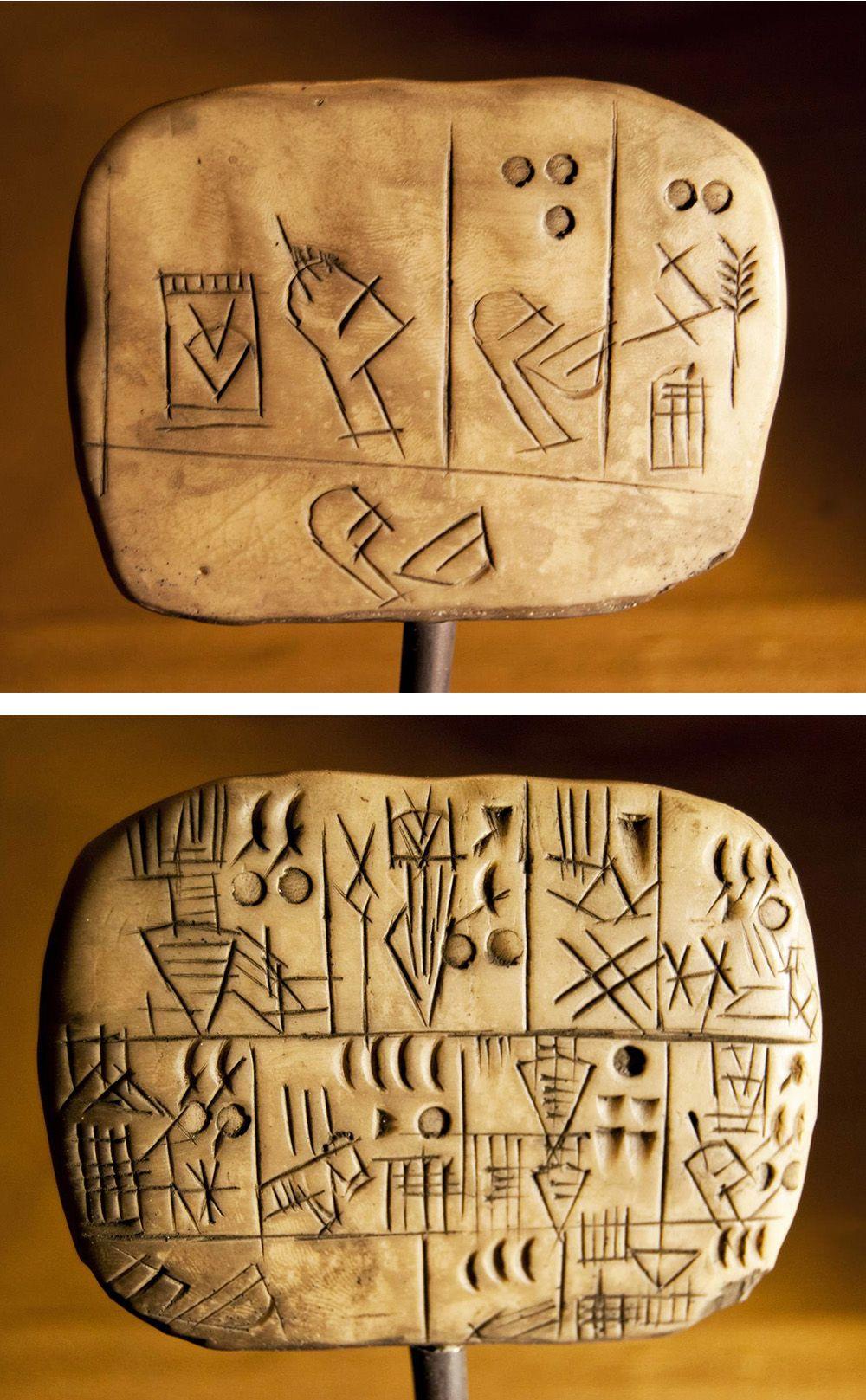 Sumeria Escritura Cuneiforme Replicas Sumerio Mesopotamia Escritura Cuneiforme