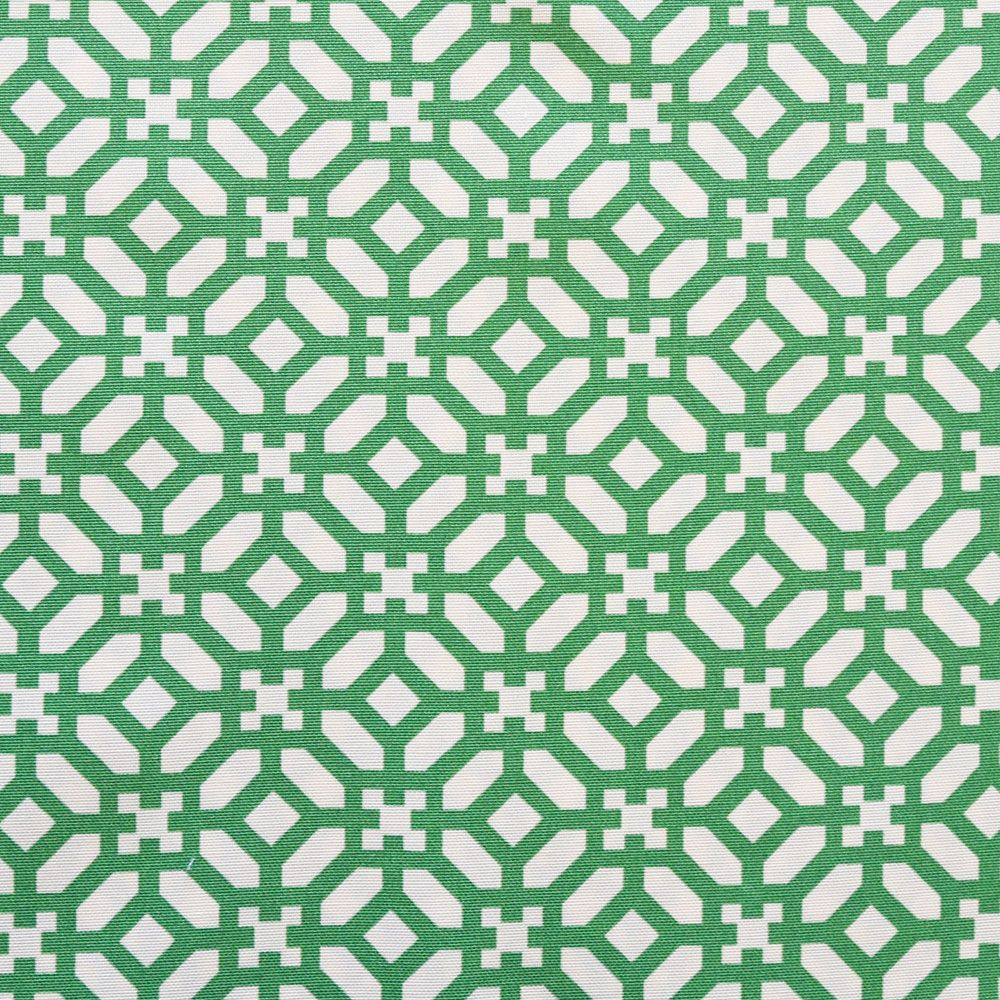 In The Frame Emerald Indoor Outdoor Fabric Tonic Living Geometric Upholstery Outdoor Drapery Green Shower Curtains