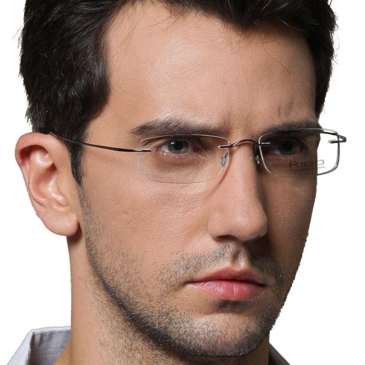 1ca40fd8960 Pics For   Rimless Eyeglasses For Men. Pics For   Rimless Eyeglasses For Men  Titanium Eyeglass Frames ...
